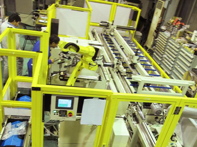 パイプ自動加工システム