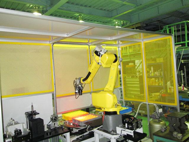 カメラ付NCロボットシステム