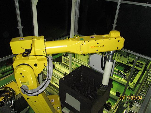 ロボットバラ積みシステム